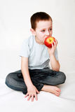 Child and healthy food Stock Photography