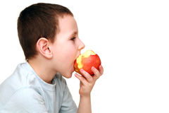 Child and healthy food Stock Photos