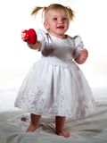 Child and heart Royalty Free Stock Image