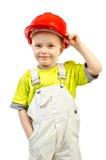 Child in helmet Royalty Free Stock Photos