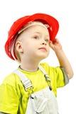 Child in helmet Stock Photography