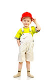 Child in helmet Royalty Free Stock Photos