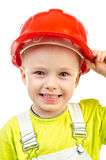 Child in helmet Stock Image