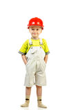 Child in helmet Royalty Free Stock Photo