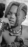 Child Himba tribe Stock Images