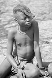 Child Himba tribe. Stock Image