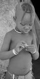 Child Himba tribe. Stock Photos