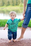 Child with his mother Stock Photos