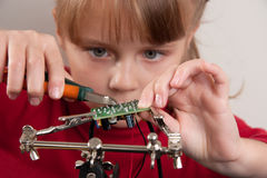 Child hobby Royalty Free Stock Photography