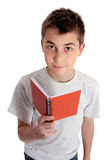 Child holding a book Royalty Free Stock Images