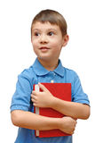 Child holding book Royalty Free Stock Photos