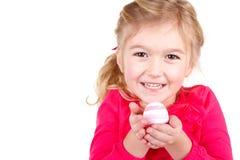 Child holding easter egg Royalty Free Stock Image