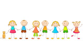 Child holding Hands Royalty Free Stock Photography