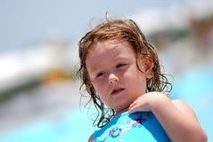 Child on holiday Stock Photo