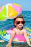 Child on holiday Stock Image
