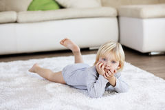 Child at home Stock Photography