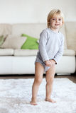 Child at home Royalty Free Stock Image