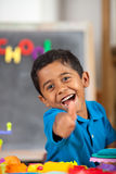Child in Home School Setting Stock Photography