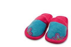 Child house slippers Stock Images