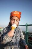 Child icecream bandana Royalty Free Stock Photos