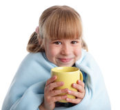 Child is ill Stock Images
