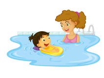 Child illustration Royalty Free Stock Photography