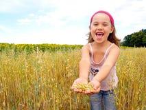 Child im kornfeld Royalty Free Stock Image