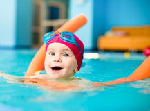 Child In A Swimming Pool Stock Photography