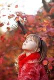 Child In Autumn Royalty Free Stock Photos