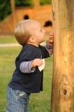 Child In Children Park Stock Images