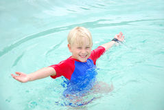Free Child In Swimming Pool Royalty Free Stock Photo - 10688375