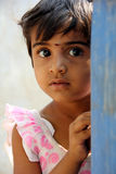 Child. Indian Rural Child looking at camera Stock Images
