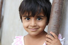 Child. Indian Rural Child with Smiling face Royalty Free Stock Photo