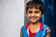 Child. Indian Rural Child with Smiling face Royalty Free Stock Images