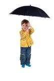 Child in jacket Stock Photo