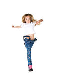 Child jump Royalty Free Stock Image