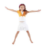 Child jumping Stock Photo