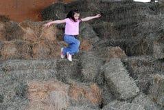 Child jumping Stock Photos