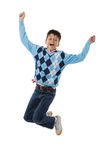 Child jumping Royalty Free Stock Image