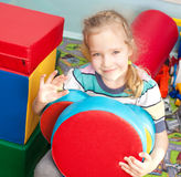 Child in kindergarten Stock Photos
