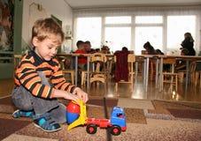Child in kindergarten2 Royalty Free Stock Image