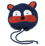 Child knitted hat with pattern Royalty Free Stock Images