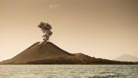 The child of Krakatoa Stock Image
