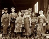Child Labor Royalty Free Stock Photos