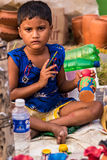 Child labor in India Royalty Free Stock Photos