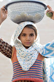 Child labour. Stop child labour, it ruins the childhood Stock Photography