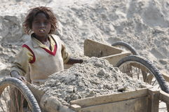 Child labour Royalty Free Stock Photos
