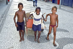 Child labour in Recife, Brazil Royalty Free Stock Photography