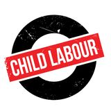 Child Labour rubber stamp Royalty Free Stock Photography