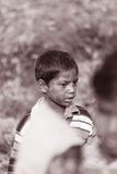 CHILD LABOUR VILLAGE LIFE INDIA Royalty Free Stock Photos